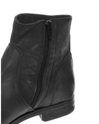 SELECTED - Black Homme Zip Boots for Men - Lyst