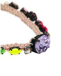 Shourouk - Multicolor Baraka Rainbow Bracelet - Lyst