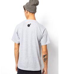 The Hundreds - Gray Tshirt Forever Half Bomb for Men - Lyst