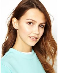 Zoe & Morgan   Metallic Zoe Morgan Galaxy Star Stud Earrings   Lyst