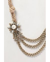 Anthropologie | Metallic Comet Blaze Necklace | Lyst