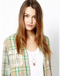 ASOS - Multicolor Limited Edition Charm Disc Necklace - Lyst