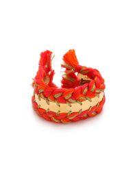 Aurelie Bidermann - Orange Copacabana Bracelet - Geranium - Lyst