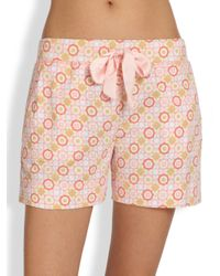 Cottonista | Pink Palm Springs Weekend Shorts | Lyst