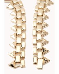 Forever 21 | Pink On The Edge Spiked Choker | Lyst