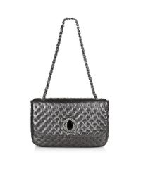 Love Moschino - Metallic Shoulder Bag - Lyst