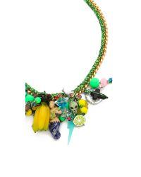 Venessa Arizaga - Multicolor Siren's Song Necklace - Lyst