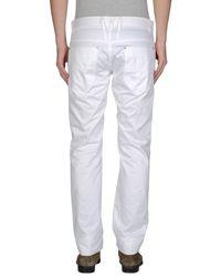 Antony Morato - White Casual Trouser for Men - Lyst