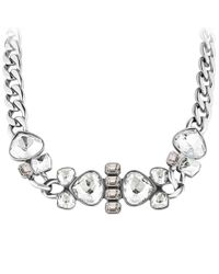 Dyrberg/Kern - Metallic Dyrberg/kern Makeda Shiny Stainless Steel Necklace - Lyst
