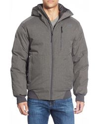 The North Face - Gray 'mount Elbert' Waterproof Hooded Jacket for Men - Lyst