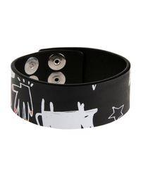 DSquared² - Black Bracelet - Lyst