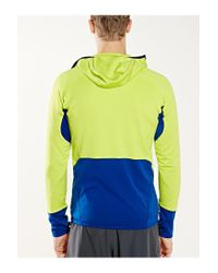 Patagonia - Yellow R1 Hooded Top for Men - Lyst