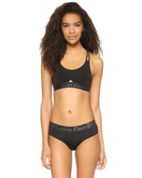 CALVIN KLEIN 205W39NYC - Black Signature Modern T-shirt - Lyst