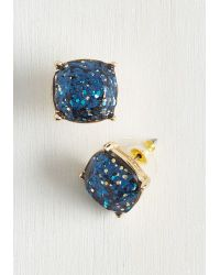 Ana Accessories Inc   Blue Literally Glittery Earrings   Lyst