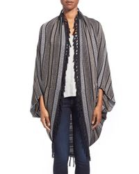 Hinge - Pink 'cocoon' Woven Cover Up - Lyst