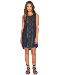 Somedays Lovin - Blue Trade Off Dress - Lyst