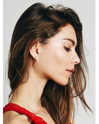 Free People | Pink Ivy Threader Earrings | Lyst