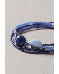 Anthropologie | Blue Beaded Bracelet Set | Lyst
