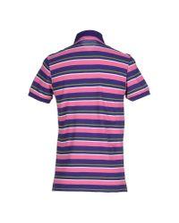 Etro | Purple Polo Shirt for Men | Lyst