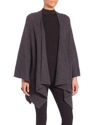 Rag & Bone | Gray Blithe Merino Wool Poncho | Lyst