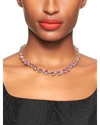 kate spade new york - Metallic Fancy That Small Necklace - Lyst