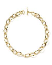 Ippolita - Metallic Glamazon 18k Gold Mini Bastille Necklace - Lyst