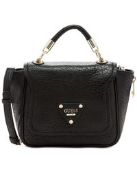 Guess | Black Off Beat Crossbody | Lyst