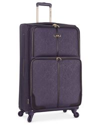 "Nine West | Purple Closeout! 70% Off Naria 28"" Spinner Suitcase, Only At Macy's 