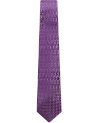 Charvet | Purple Broken Circle-print Silk Tie for Men | Lyst