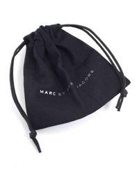 Marc By Marc Jacobs | Black Standard Supply Leather Bracelet | Lyst