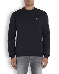 Dolce & Gabbana | Blue Navy Cotton Sweatshirt for Men | Lyst