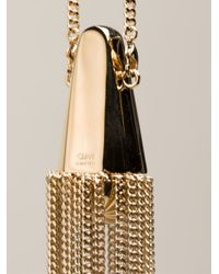 Chloé - Metallic Tassel Necklace - Lyst