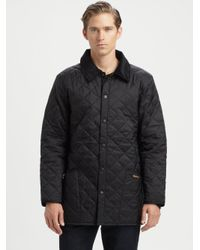 Barbour Liddesdale Quilted Jacket In Green For Men Lyst
