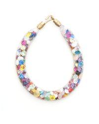 Peppercotton | Multicolor Rainbow Swarovski Crystal Bracelet | Lyst