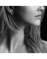 David Yurman | Yellow Chatelaine Stud Earrings With Lemon Citrine And Black Diamonds | Lyst