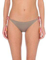 Lazul - Gray Nubia Tie-side Bikini Bottoms - Lyst