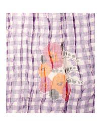Marc Jacobs - Multicolor Printed Cashmere And Silk-Blend Scarf - Lyst