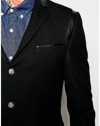 ASOS - Black Slim Suit Jacket In Twill for Men - Lyst