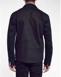 Cheap Monday - Black Biker Jacket In Denim for Men - Lyst