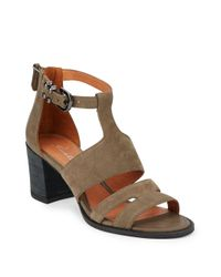 Kenneth Cole | Natural State Nubuck Sandals | Lyst