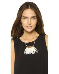Fiona Paxton - Metallic Shamen Necklace - Gold - Lyst
