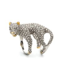 Alexis Bittar | Metallic Moonlight Panther Ring | Lyst