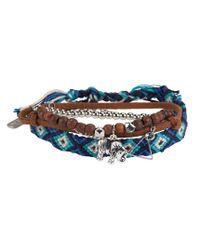 Aéropostale | Blue Elephant Triangle Bracelet 4-pack | Lyst