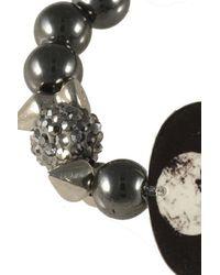 Electric Picks | Black 'alkatraz' Bracelet | Lyst
