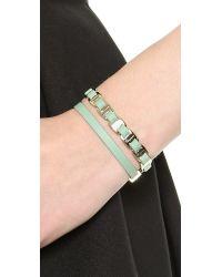 Ferragamo - Green Varini Bracelet - Menthe/Oro - Lyst