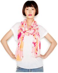 INC International Concepts | Pink Printed Pashmina Wrap | Lyst