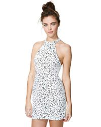 Nasty Gal | White Dream Escape Lace Dress | Lyst