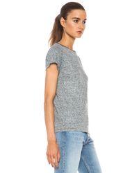 Golden Goose Deluxe Brand - Gray Love Polyblend T-Shirt - Lyst