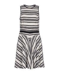 Tara Jarmon - Black Short Dress - Lyst