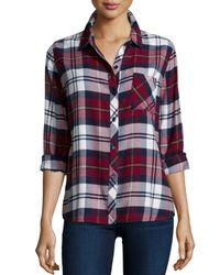 Rails - Red Hunter Plaid Long-sleeve Shirt - Lyst